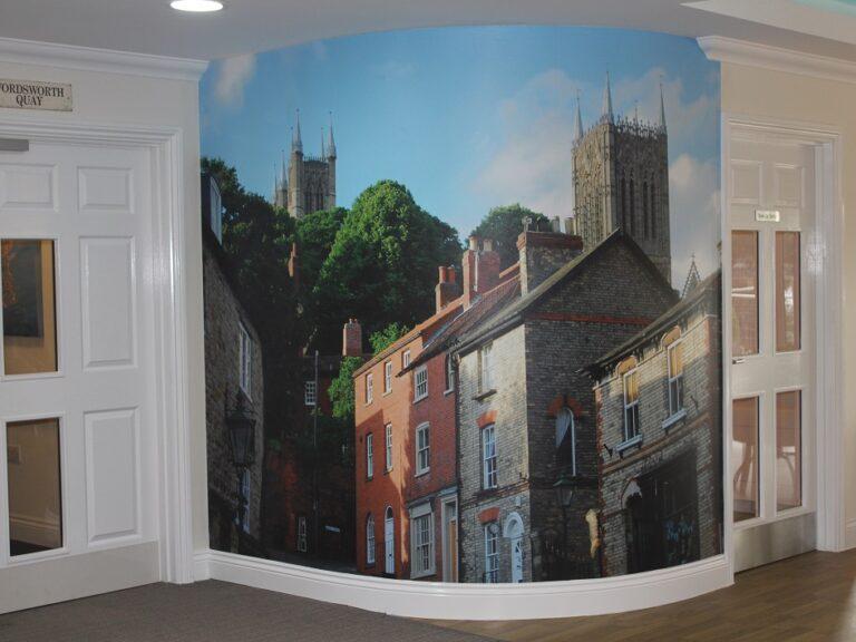 Burton Waters, Lincoln Digital Wallpaper