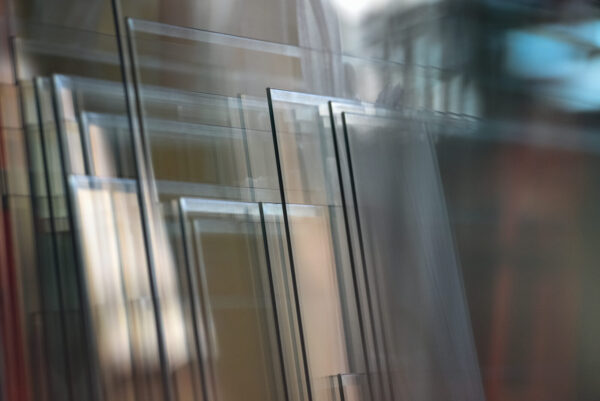 Transparent,And,Polished,Glass,Panes,In,Glass,Polishing,Factory.